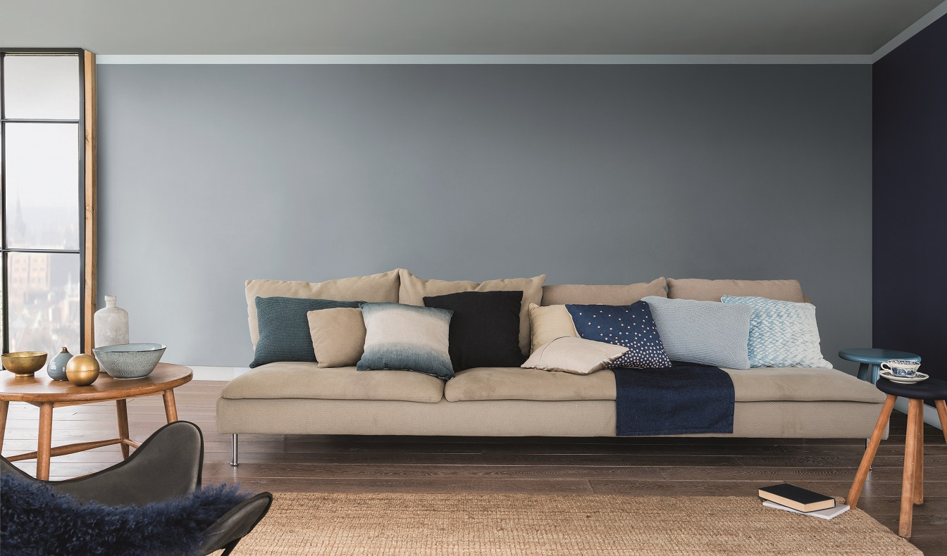 le « bleu gris », couleur tendance de l'année 2017
