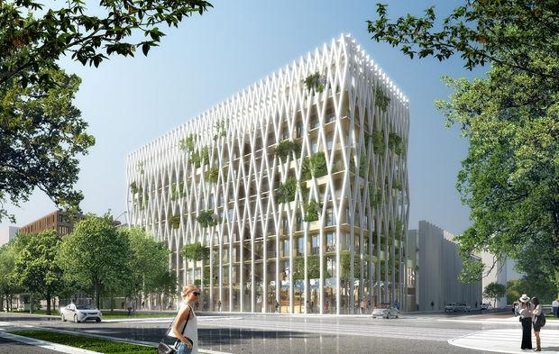 A nice nexity ywood va réaliser le plus haut immeuble de bureaux