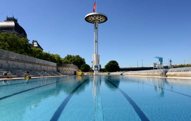 A lyon la piscine du rh ne sublim e ouvre ses portes for Chauffage piscine du rhone