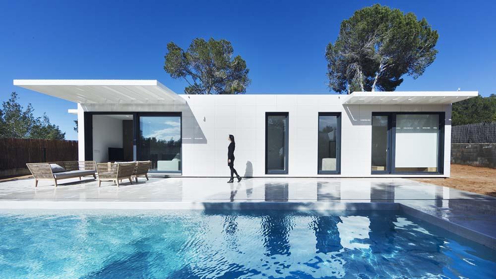 Casas inhaus veut s implanter en france avec ses maisons modulaires haut de gamme - Casas prefabricadas low cost ...
