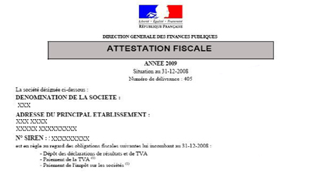 attestation fiscale 3666