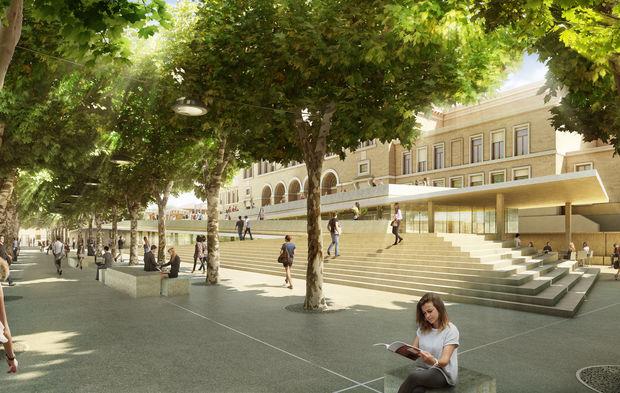 un ppp de 120 millions d euros pour r habiliter le campus d 39 aix en provence. Black Bedroom Furniture Sets. Home Design Ideas