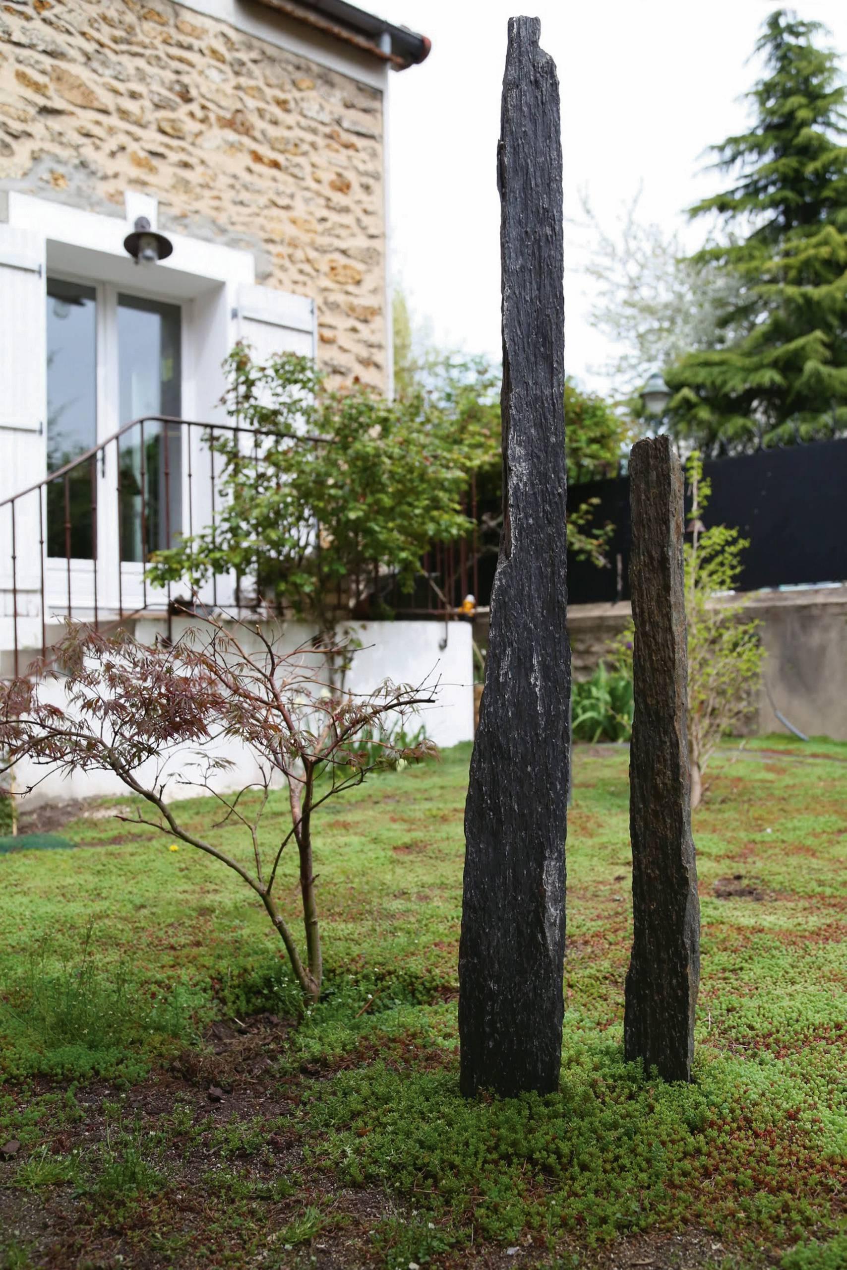 Dalle Schiste Leroy Merlin corbeil-essonnes. un jardin de sedum sur dalle de béton