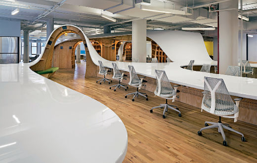 Le plus grand bureau du monde