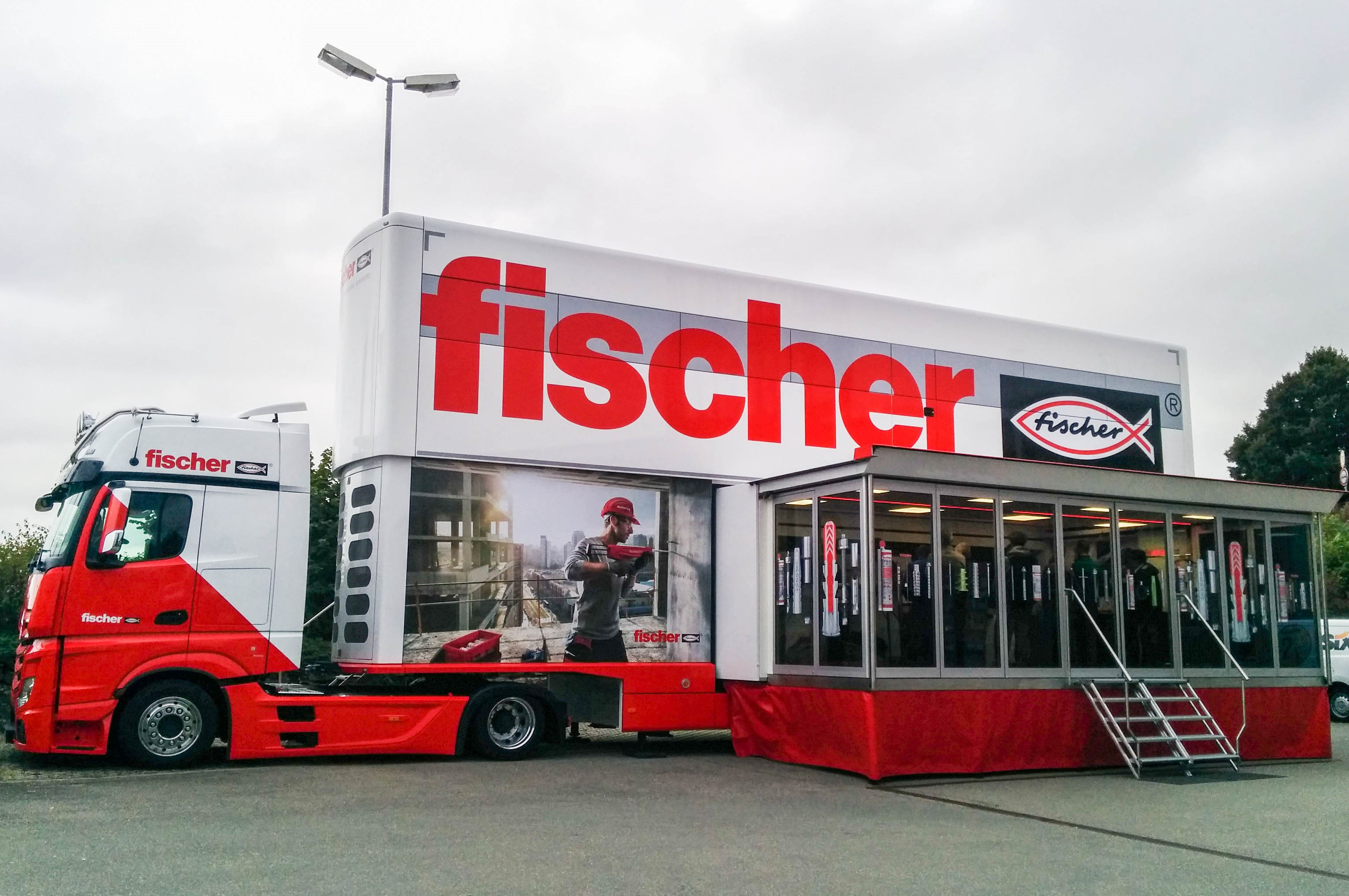 Le centre de formation mobile de Fischer reprend la route