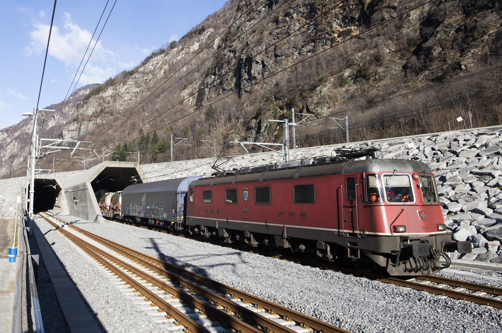 Le tunnel du Saint-Gothard