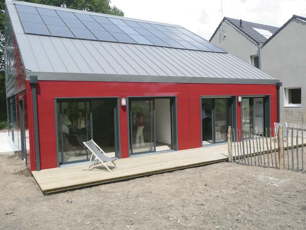 Cout d une maison ossature metallique ventana blog for Maison bois 80m2
