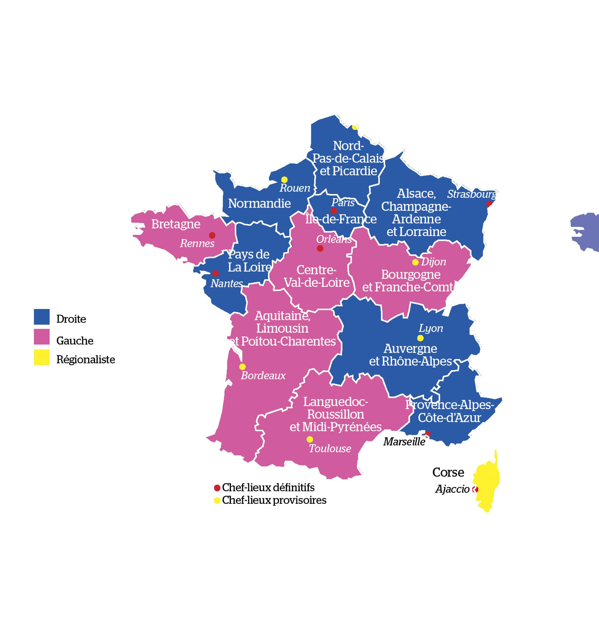 Les Nouvelles Regions Rebattent Les Cartes Du Btp