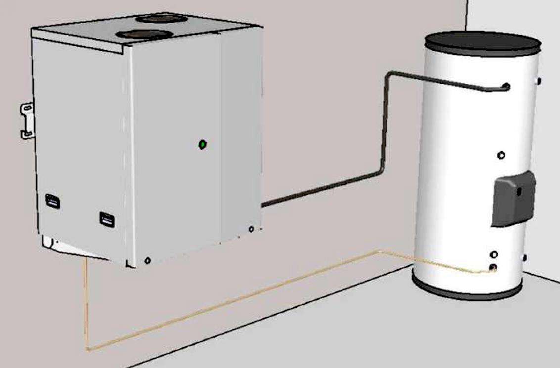 sanden tend sa gamme de pompes chaleur co2. Black Bedroom Furniture Sets. Home Design Ideas