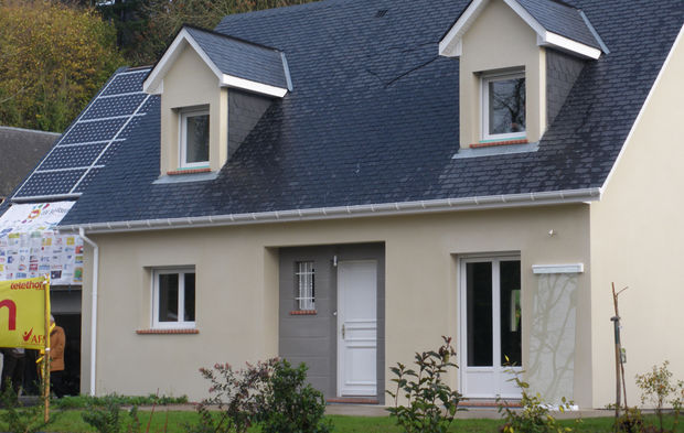 troph es habitat bleu ciel d edf le palmar s 2010 des constructeurs de maisons individuelles. Black Bedroom Furniture Sets. Home Design Ideas