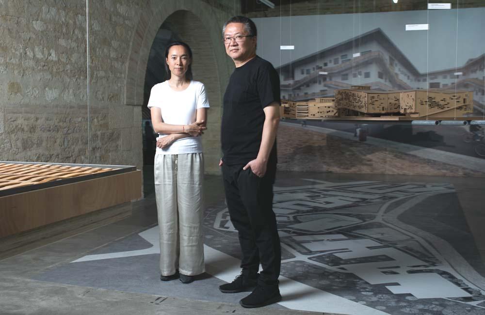 architecture wang shu et lu wenyu des rives du lac de hangzhou ivry sur seine. Black Bedroom Furniture Sets. Home Design Ideas