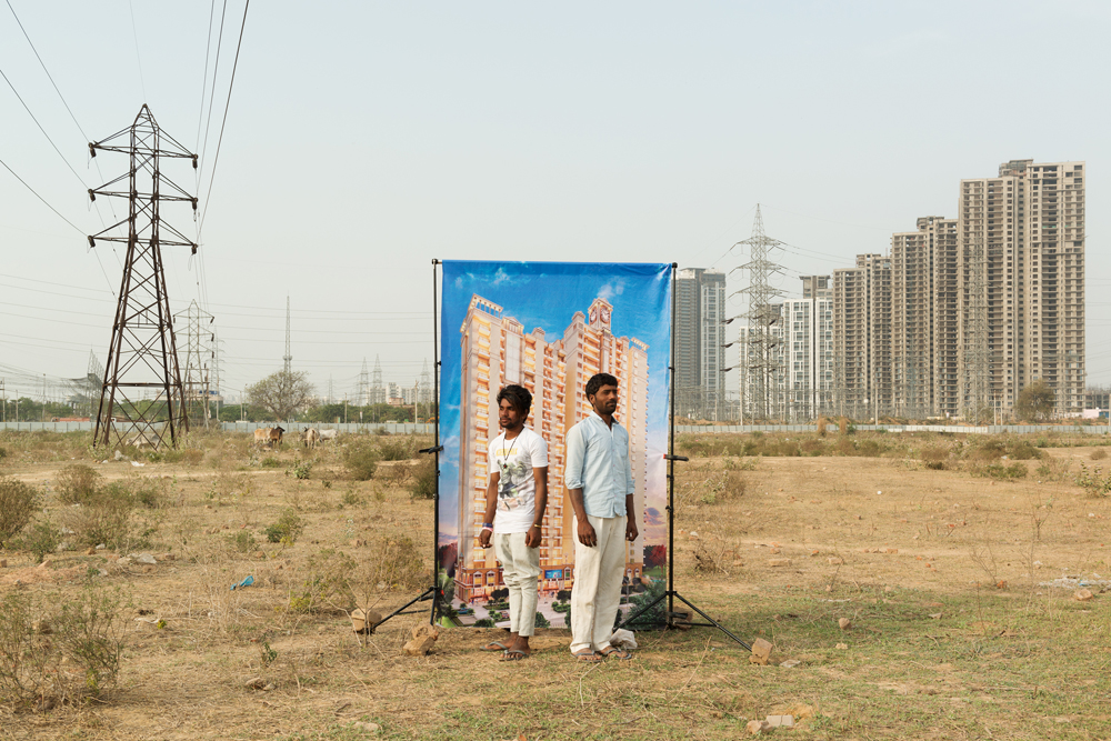 Série « Bad City Dreams » à Gurgaon (Inde), par le photographe Arthur Crestani