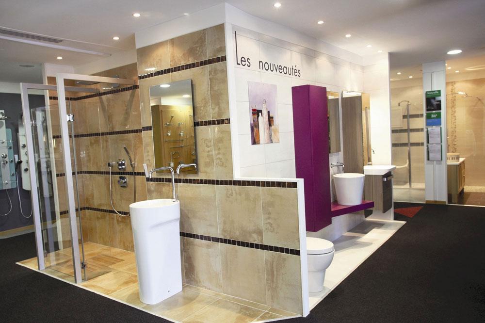 Salles d exposition salle de bains le n goce d voile ses nouveaux concepts - Exposition salle de bain ...