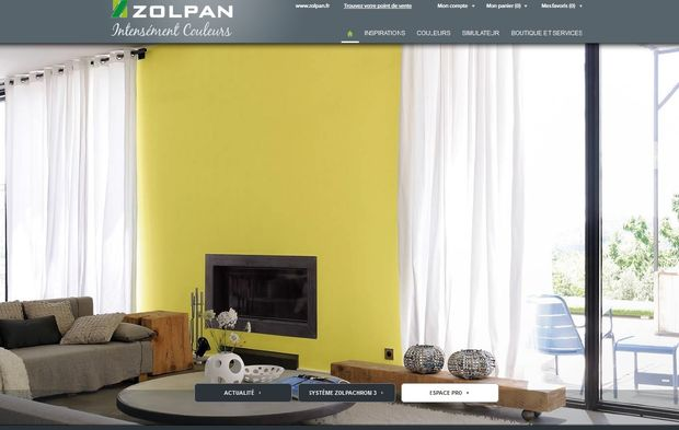 Zolpan Accompagne Les Peintres Sur Le Conseil Couleur