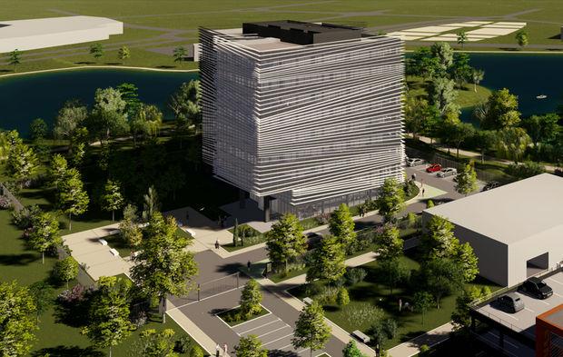 Thalès construit un nouvel immeuble de bureaux au sud de toulouse