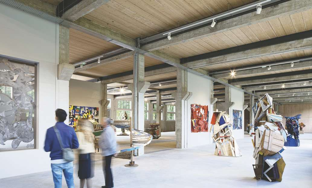 L'art contemporain investit d'anciennes tanneries