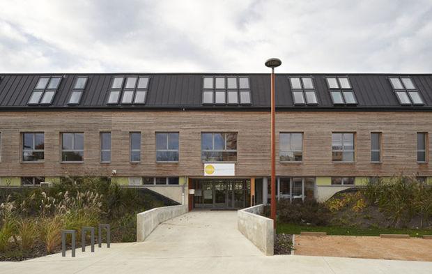 Objectif bepos et zéro carbone pour un bâtiment de bureaux à mâcon