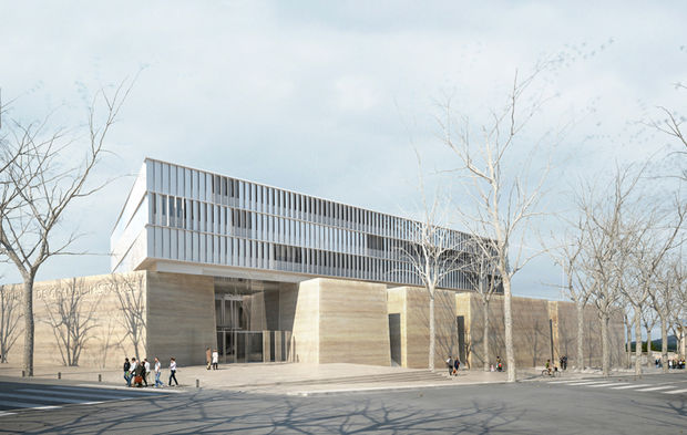 L architecte marc barani retenu pour le tgi d aix en provence - Tribunal d instance salon de provence ...