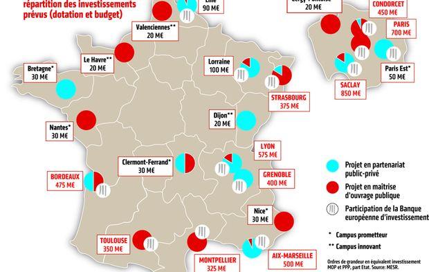 Carte Campus Bordeaux.Le Plan Campus Relance Ou En Sont Les Projets