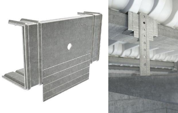 Une Suspente Kp1 Qui Simplifie La Pose Des Plafonds Suspendus