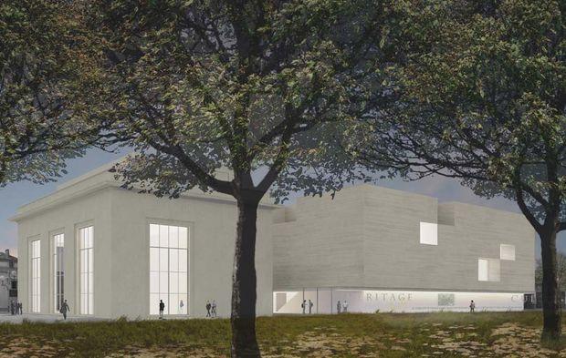 le futur centre de cr ation contemporaine olivier debr cccod tours indre et loire. Black Bedroom Furniture Sets. Home Design Ideas
