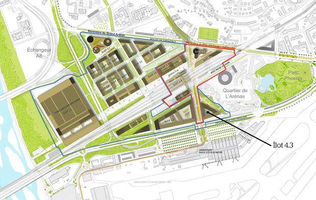 A Nice, l'aéroport va lancer une consultation pour un programme immobilier mixte de 25 000 m² face au terminal 1