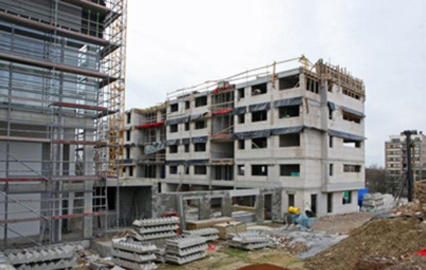 Construction de logements : Paca et l'Ile-de-France dans le rouge écarlate