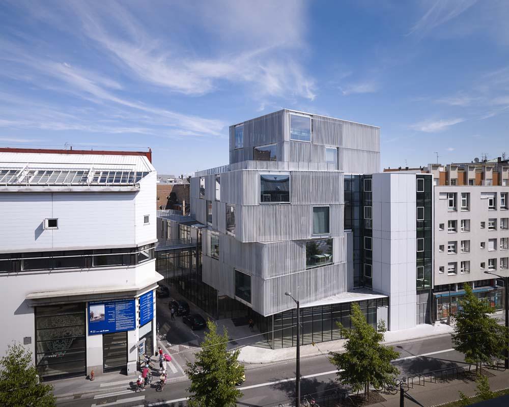 Architecte Bas Rhin extension de l'école d'architecture de strasbourg (bas-rhin